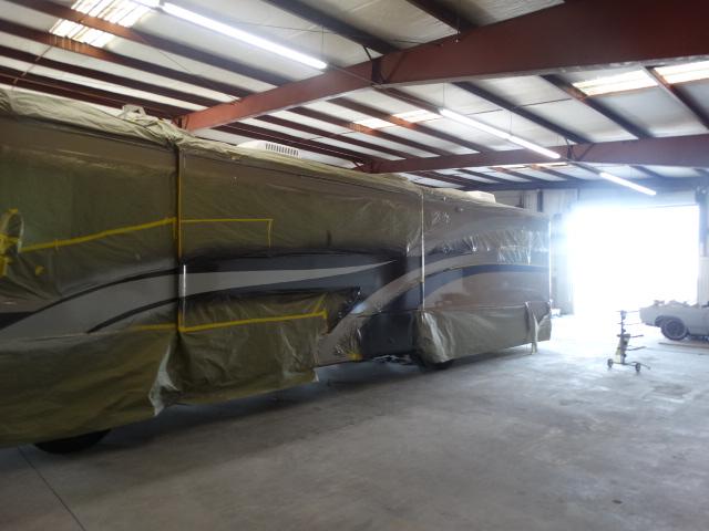 RV Collision Repair - Mobile RV Repair near Pasadena-CA--Truck body