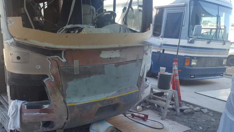 RV-Collision-repair-Cerritos-Ca-- bus conversion, bus